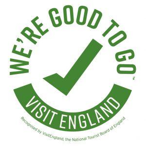 Visit England 'We're Good to Go' accreditation logo